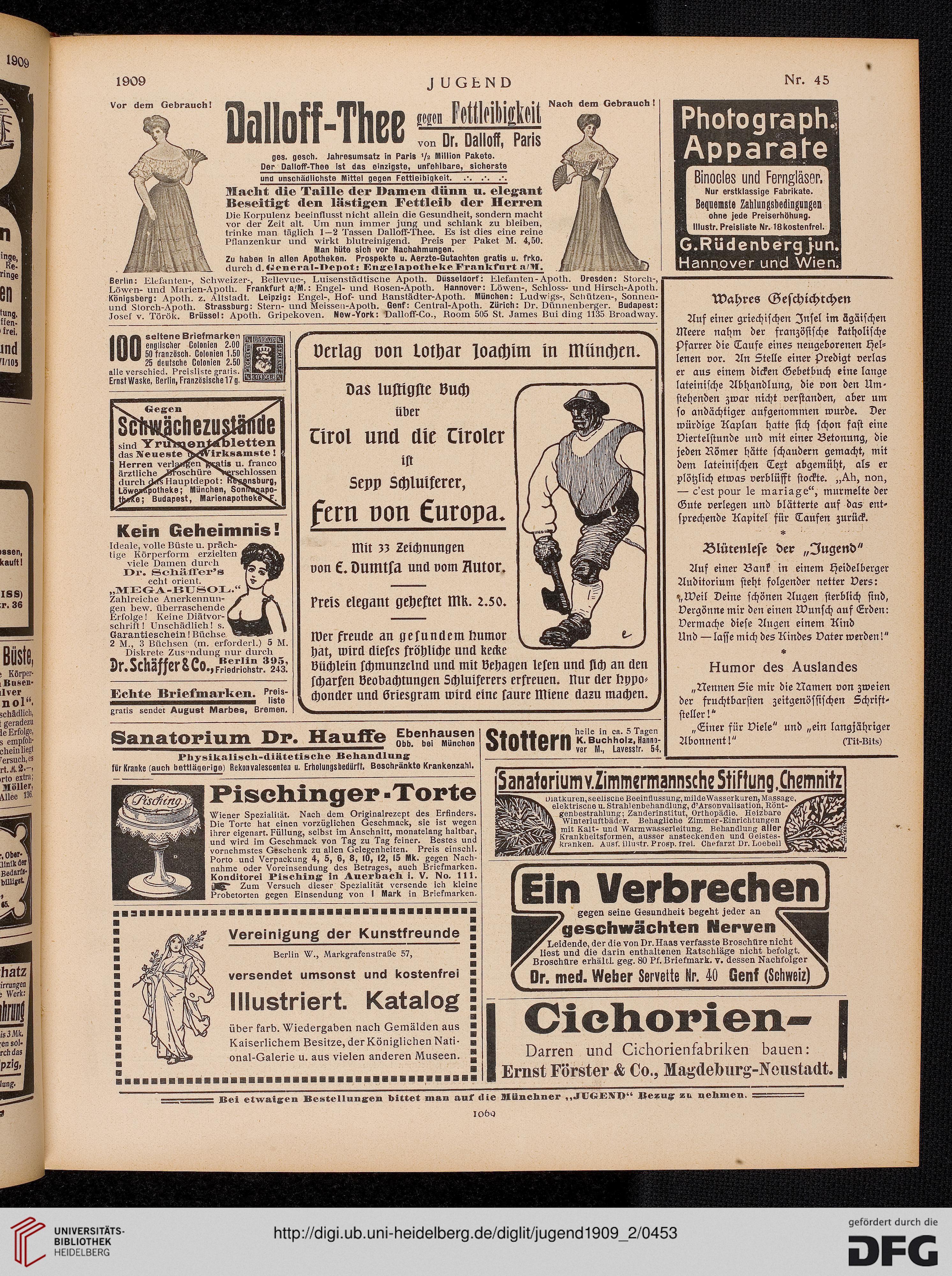 Jugend: Münchner illustrierte Wochenschrift für Kunst und Leben