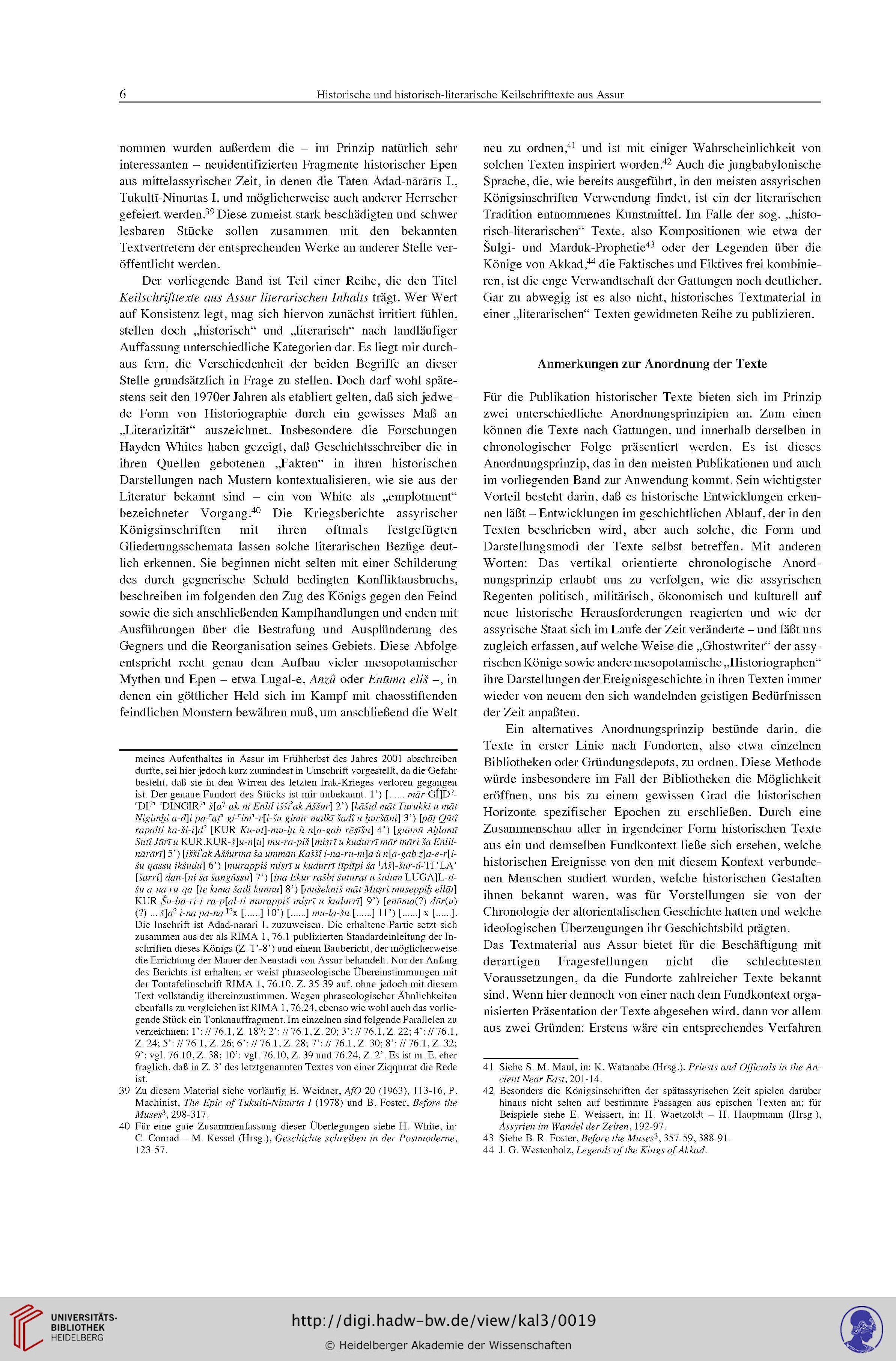 Frahm Eckart Maul Stefan M Hrsg Heidelberger Akademie Der