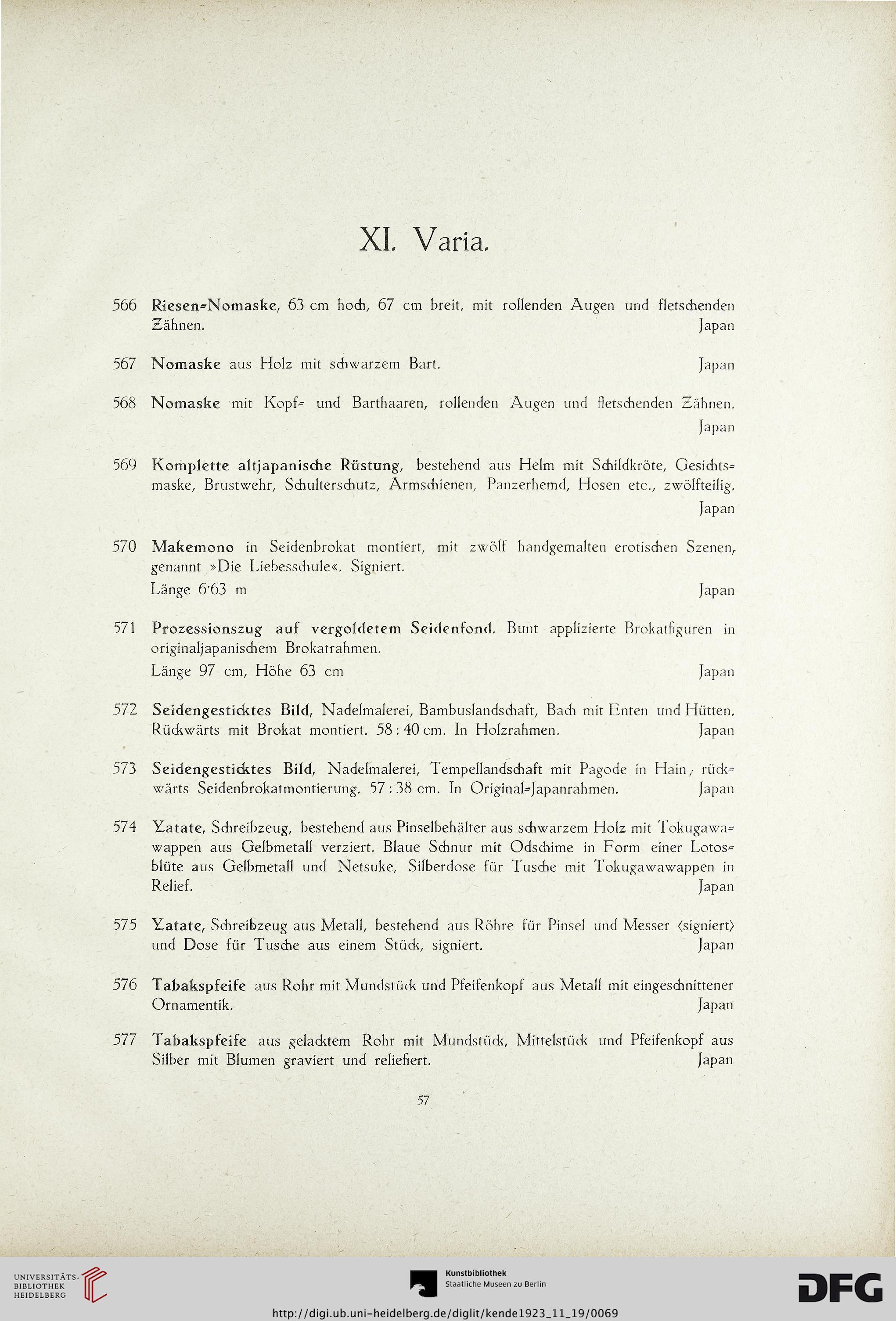 Auktionshaus Albert Kende <Wien> [Hrsg.]: Nachlaß Heinrich Eisenbach ...