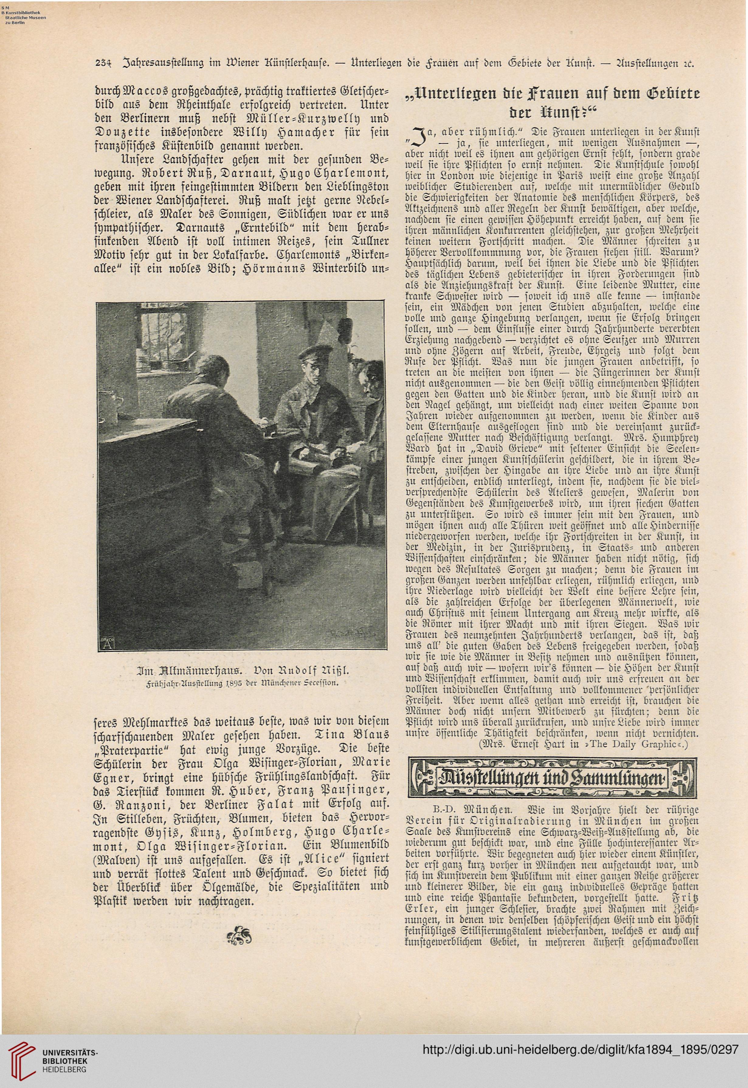 Die Kunst für alle: Malerei, Plastik, Graphik, Architektur (10.1894 ...