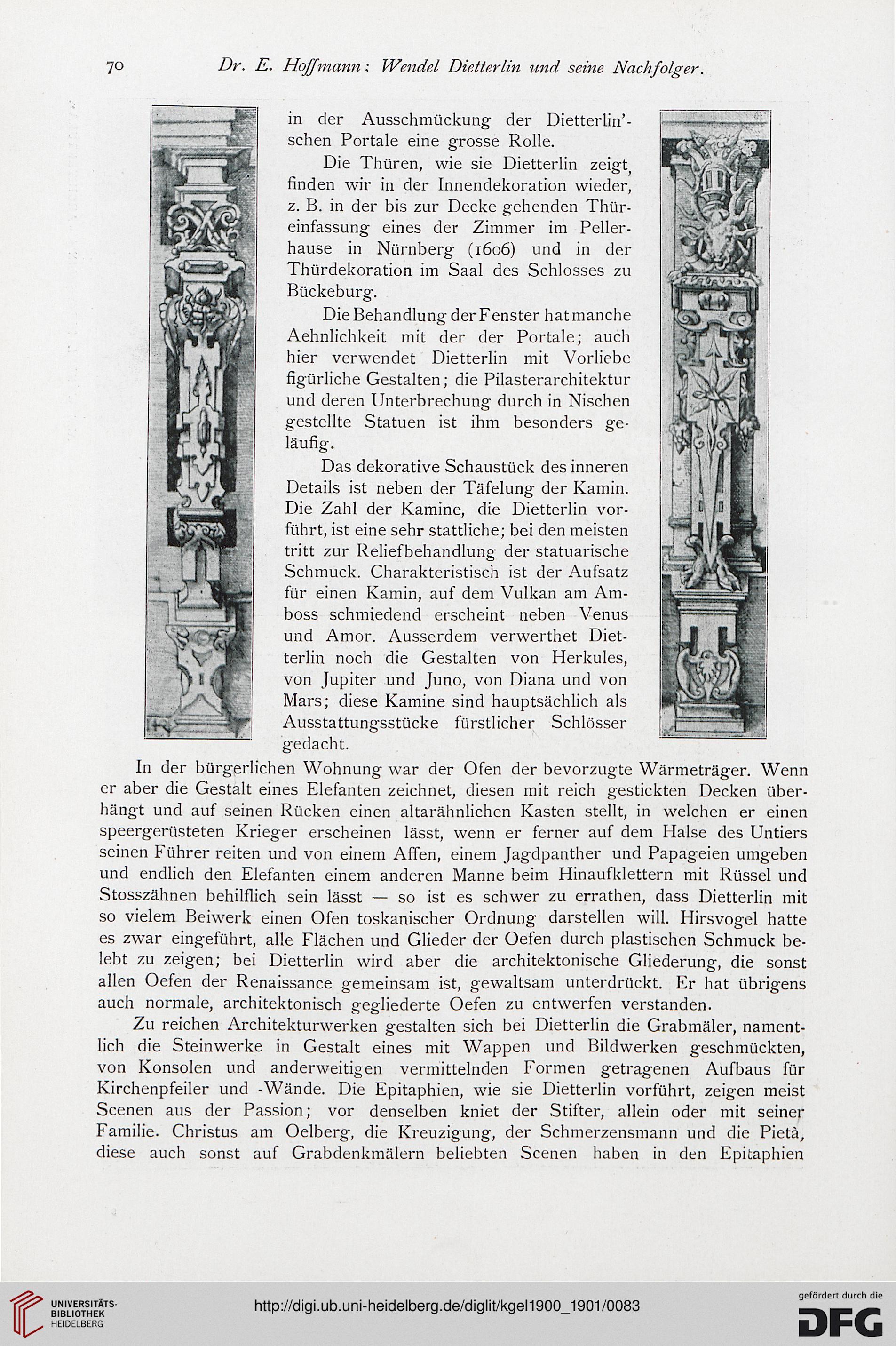 Das kunstgewerbe in elsa lothringen for Innendekoration heidelberg