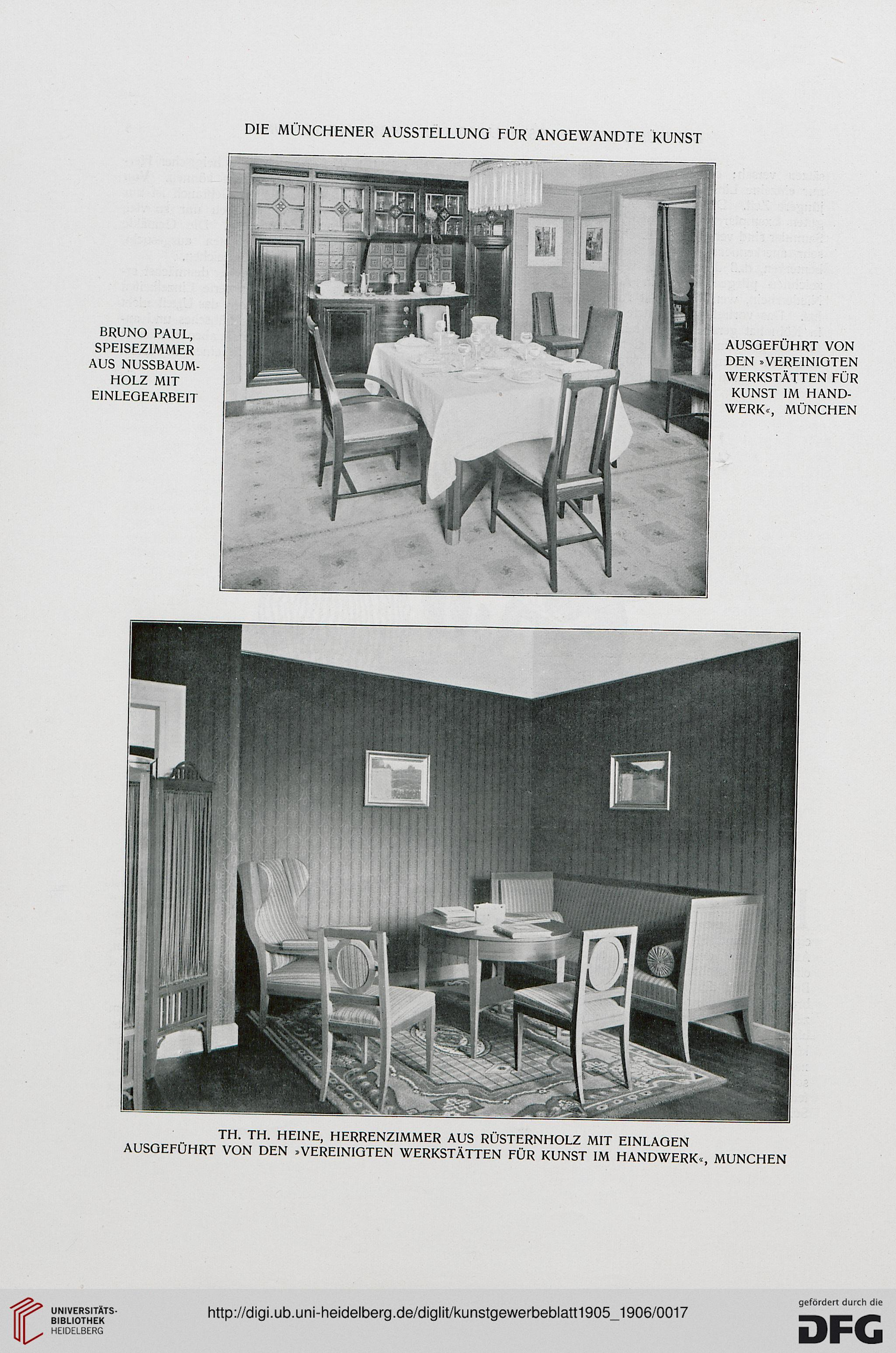 Kunstgewerbeblatt: Vereinsorgan der Kunstgewerbevereine Berlin