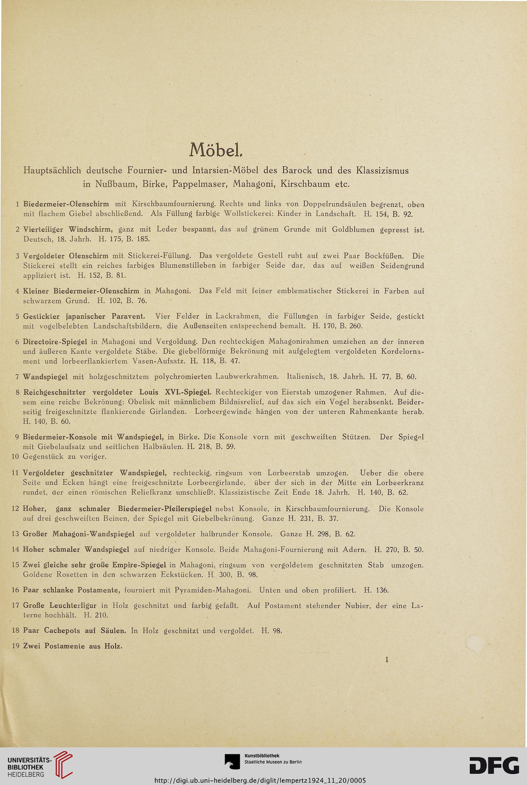 M. Lempertz\' Antiquariat (P. Hanstein) [Hrsg.]: Deutsche Fournier ...