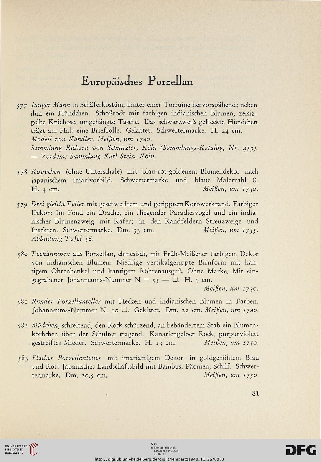 Kunsthaus Lempertz Koln Hrsg Sammlung Dr Kruger Meran Und