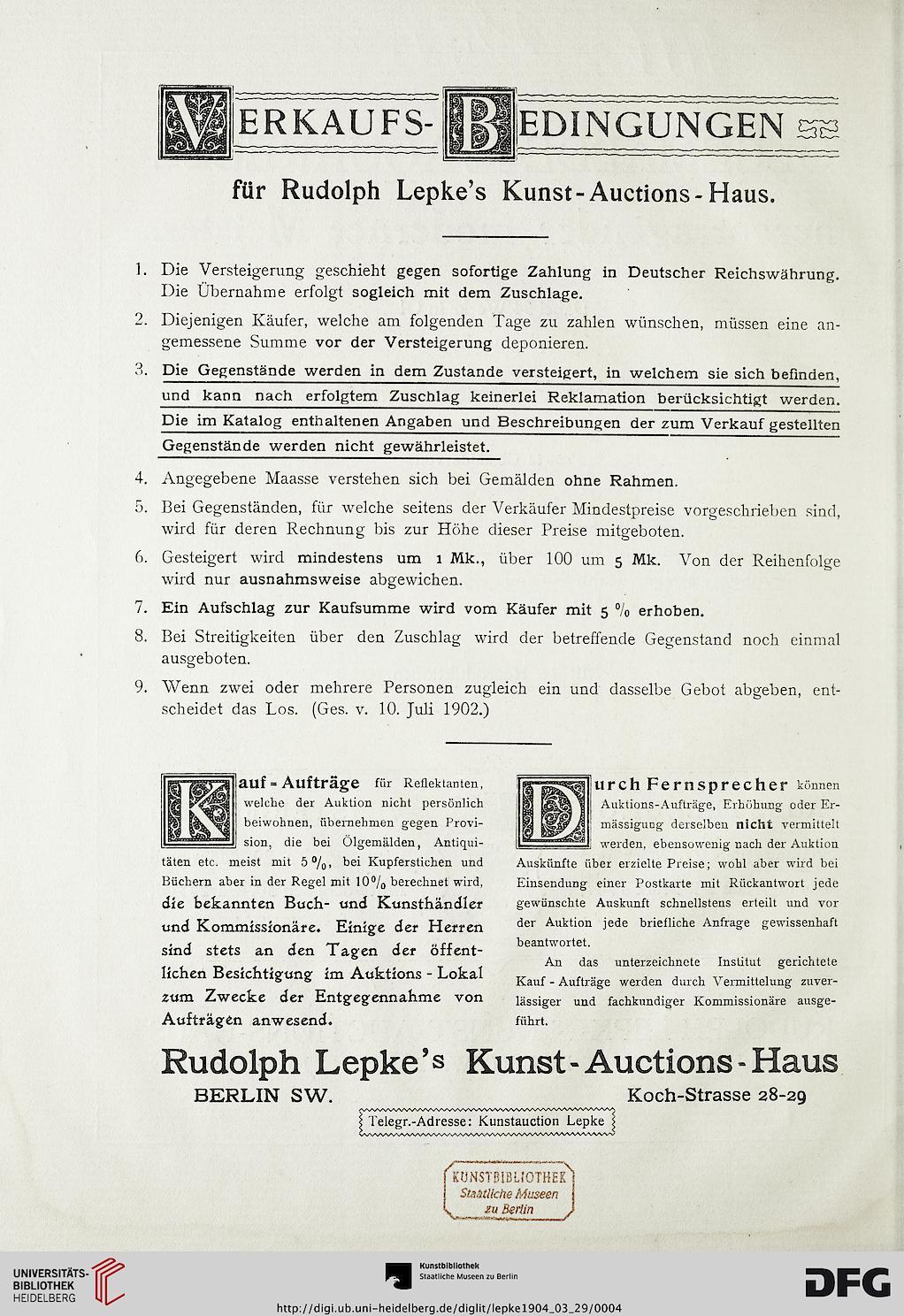 rudolph lepke 39 s kunst auctions haus hrsg gem lde und. Black Bedroom Furniture Sets. Home Design Ideas