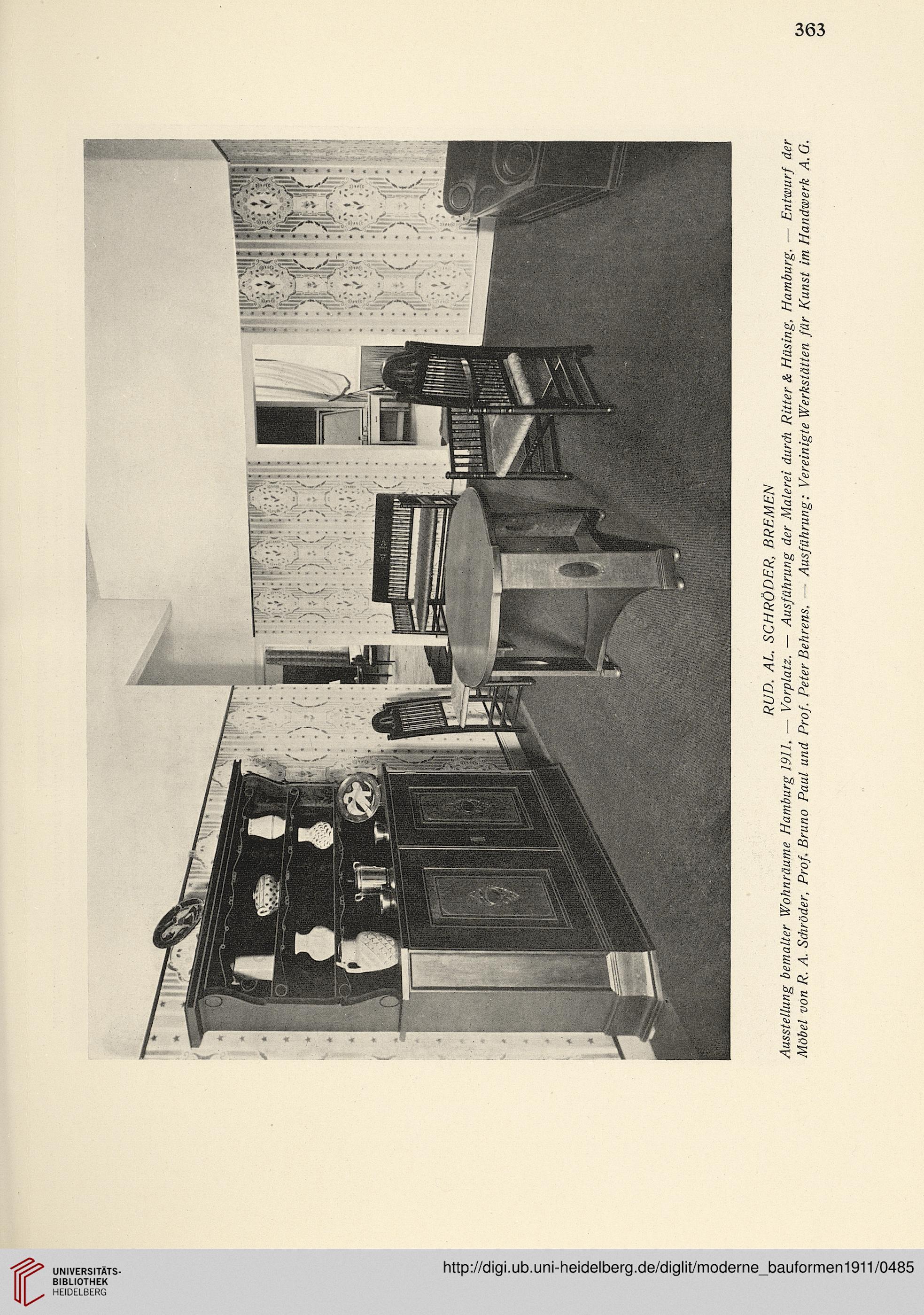 Moderne Bauformen: Monatshefte für Architektur und Raumkunst (10.1911)