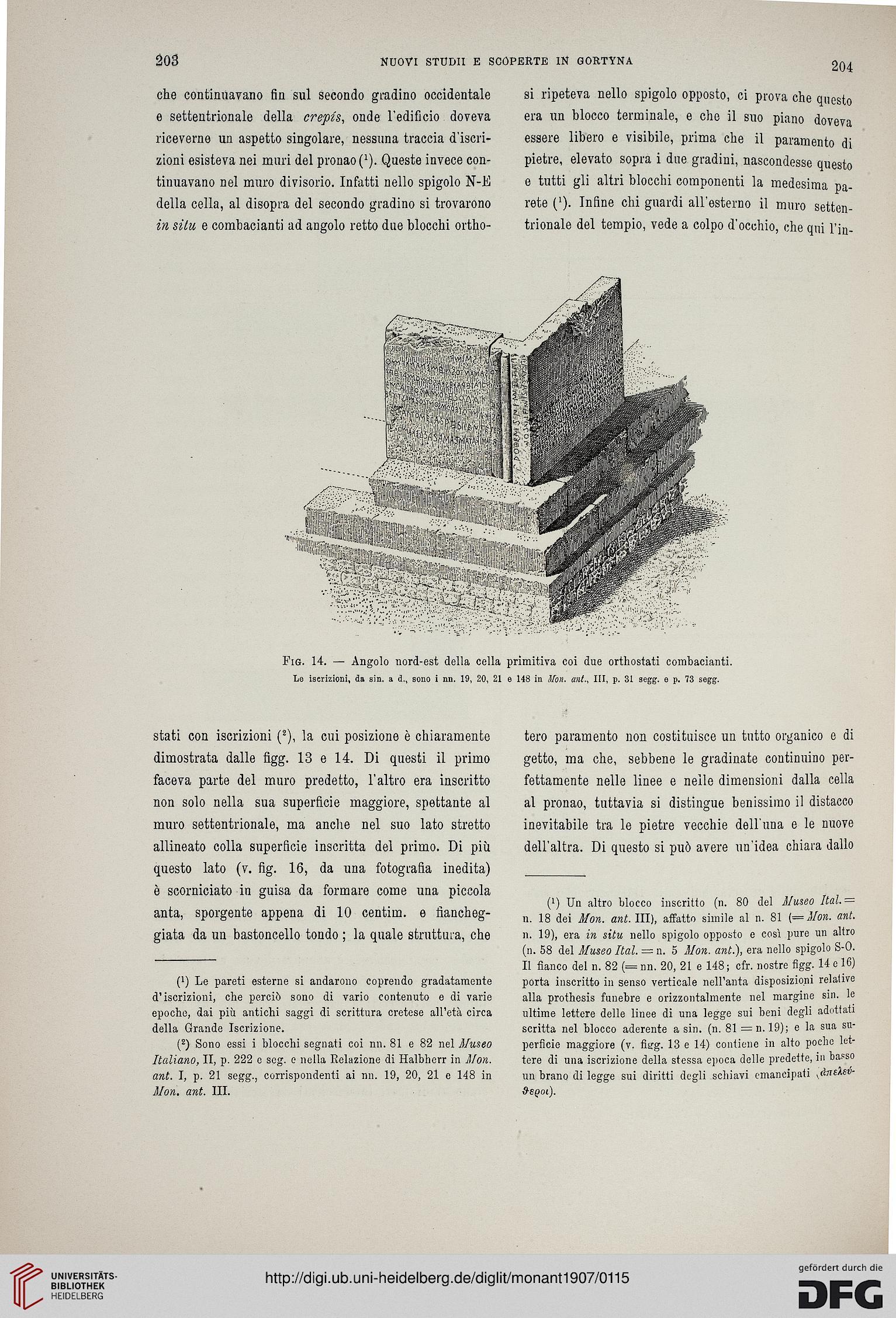 Accademia Nazionale dei Lincei <Rom> [Hrsg.]: Monumenti ...