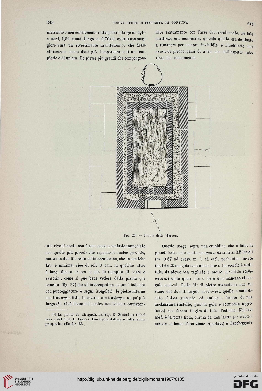 Accademia Nazionale Dei Lincei Rom Hrsg Monumenti Antichi 18 1907