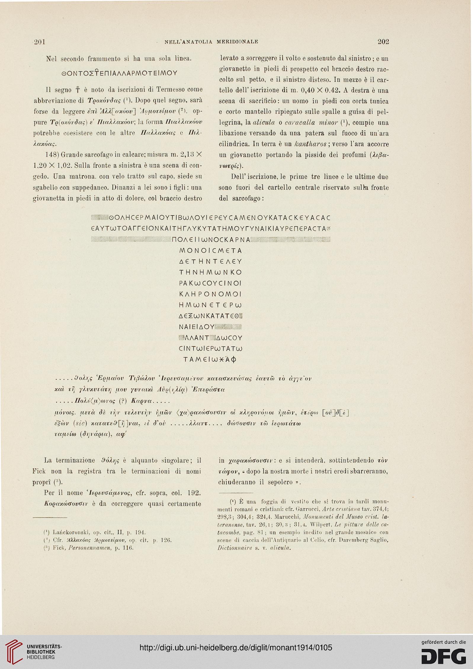 Accademia Nazionale Dei Lincei Rom Hrsg Monumenti Antichi