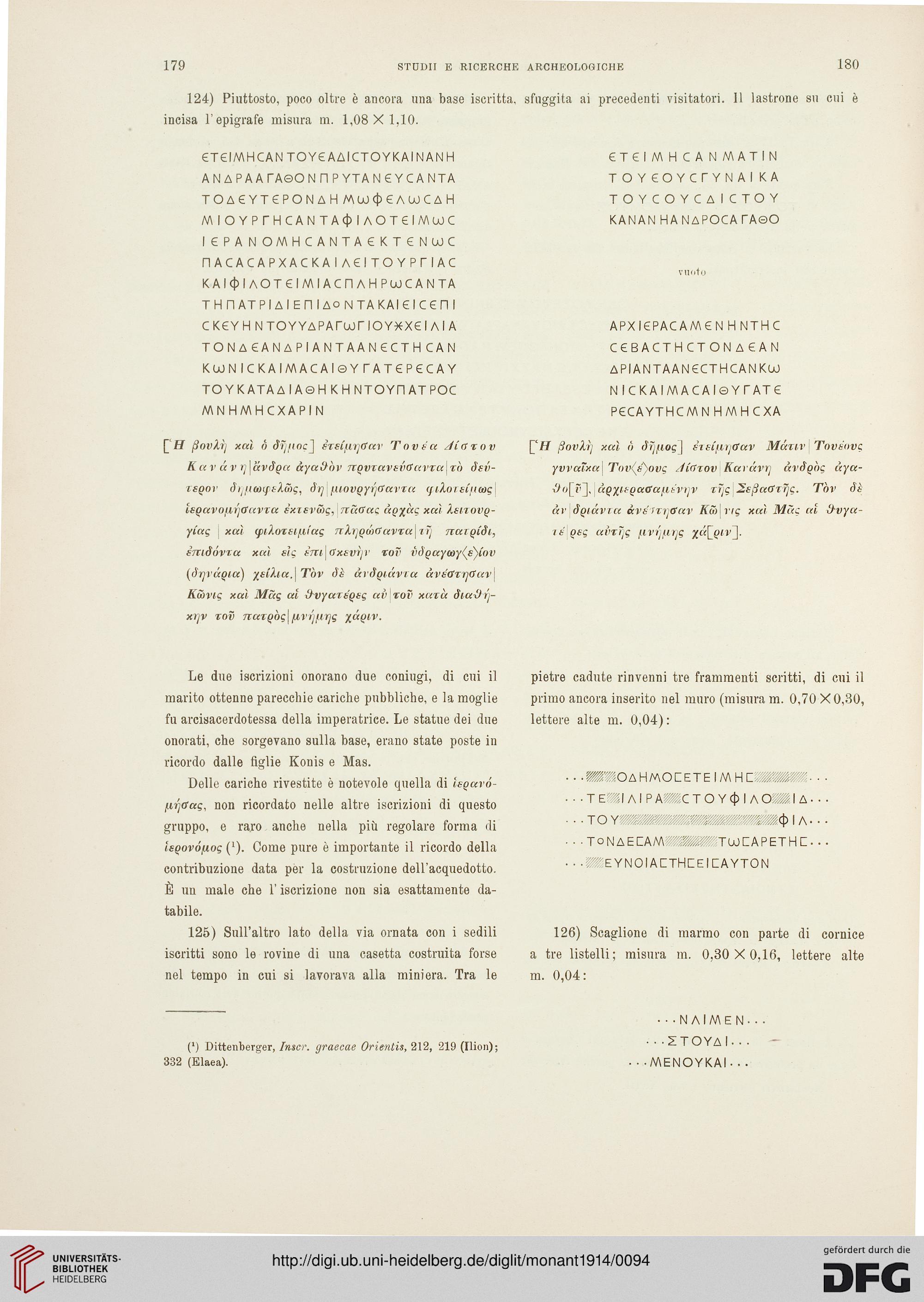 a14ea02aff4d Accademia Nazionale dei Lincei  Rom   Hrsg.   Monumenti antichi (23.1914)