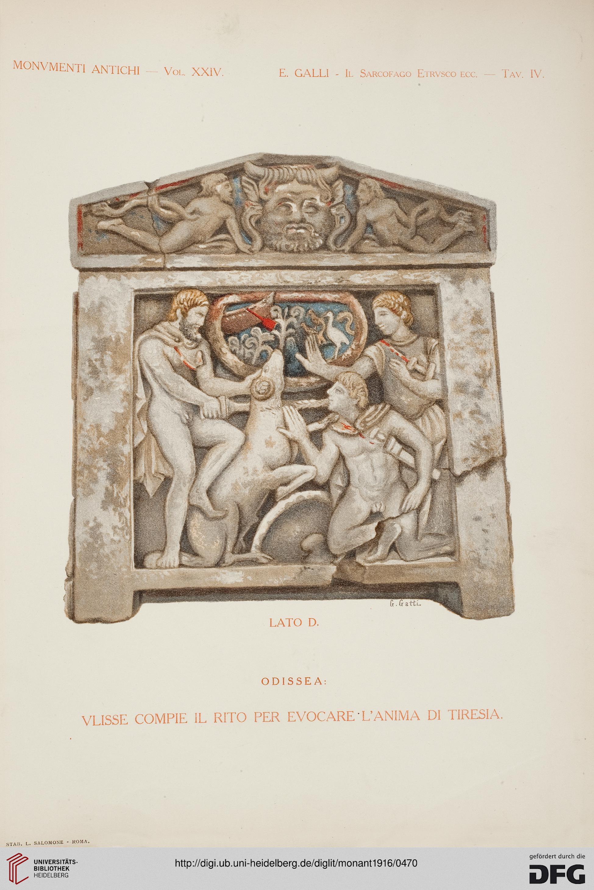 2ff364442b Accademia Nazionale dei Lincei <Rom> [Hrsg.]: Monumenti antichi ...
