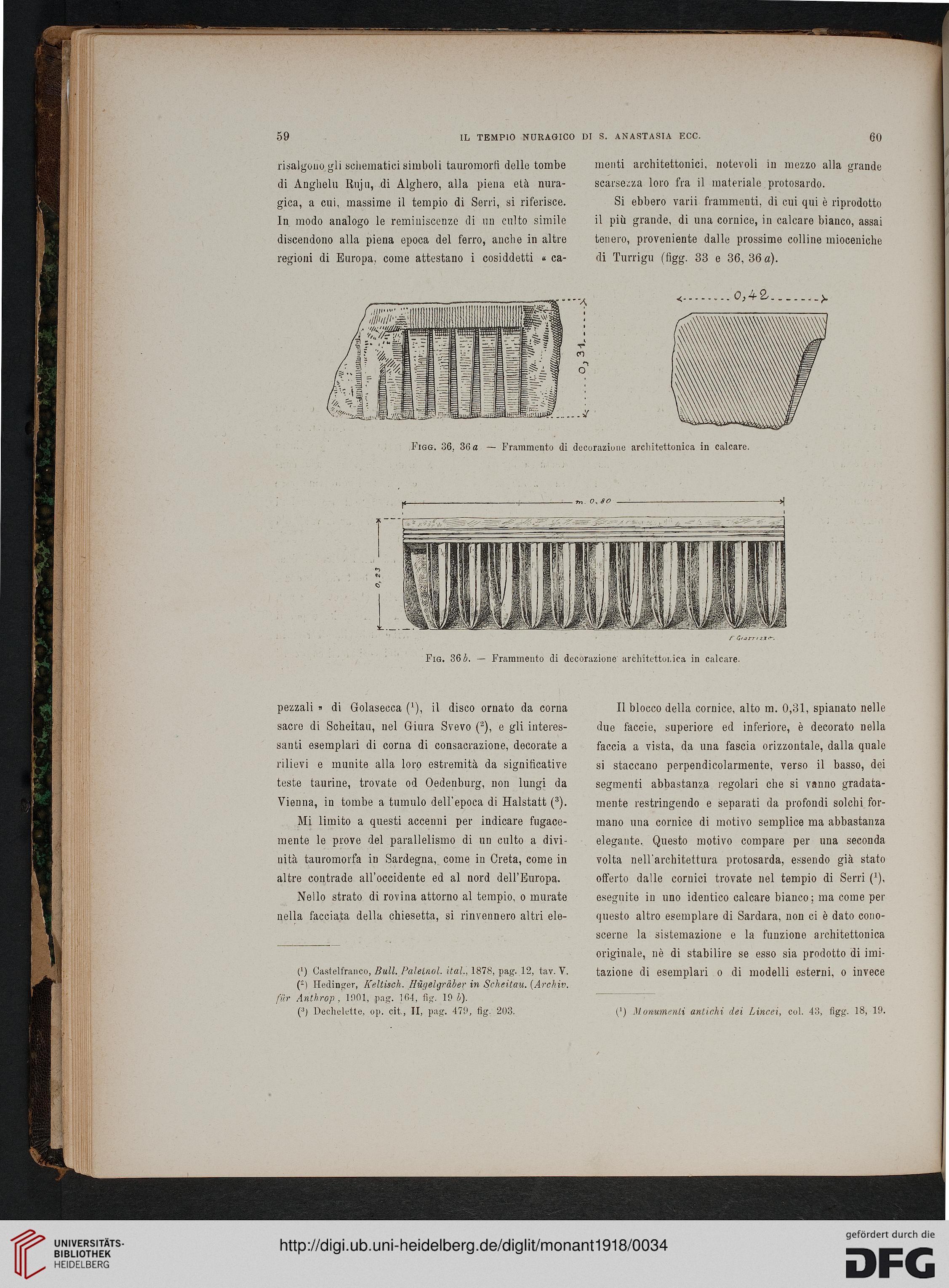Accademia Nazionale dei Lincei Rom [Hrsg ] Monumenti antichi 25 1918