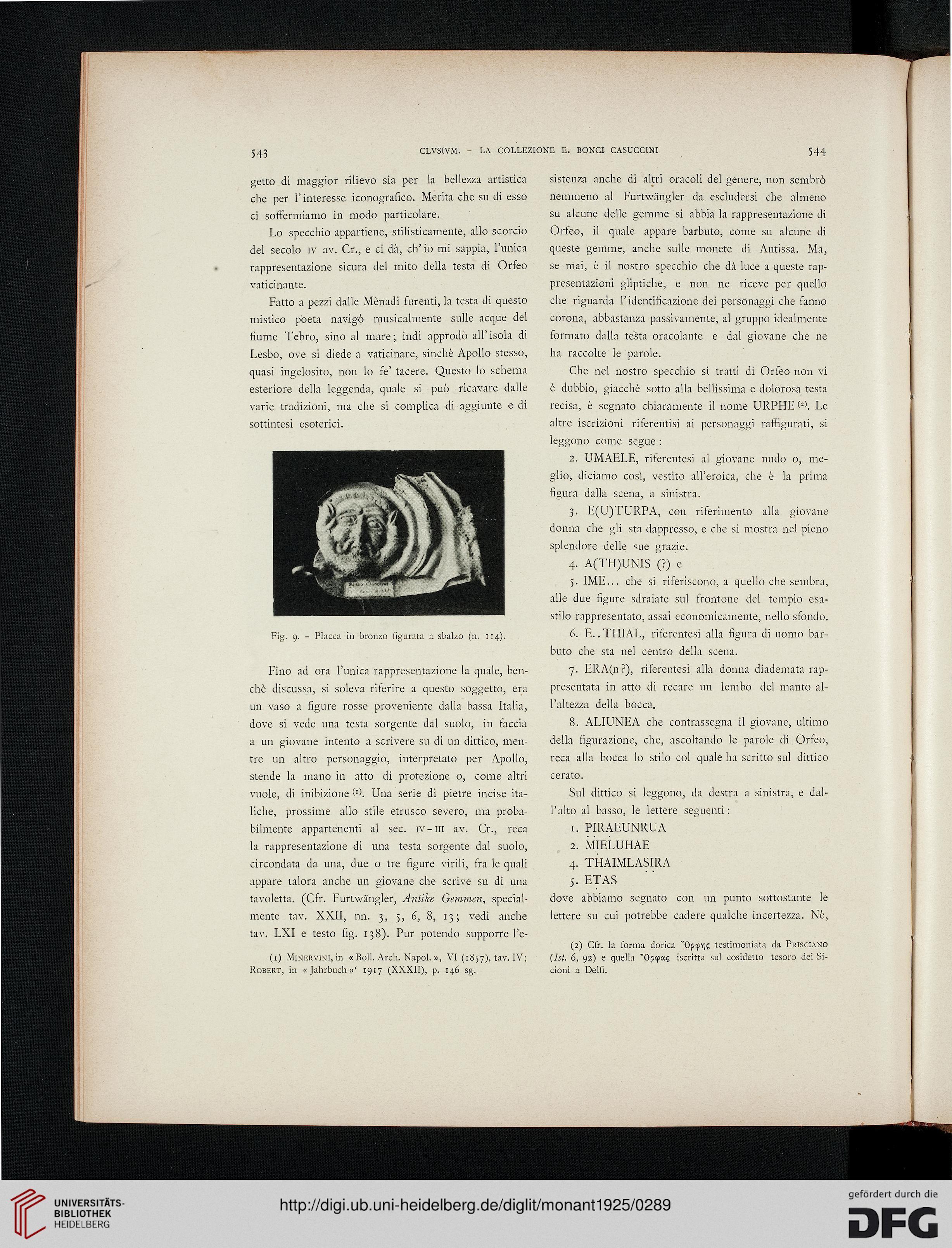 Accademia Nazionale dei Lincei <Rom> [Hrsg.]: Monumenti antichi ...