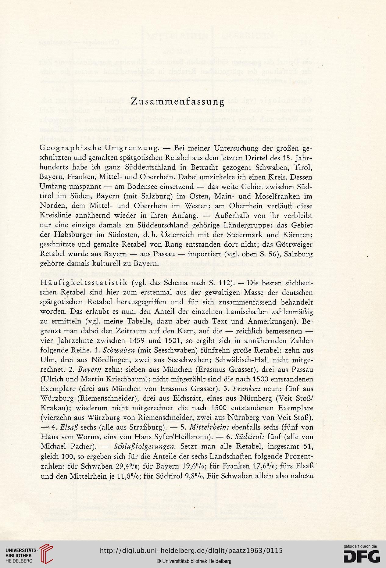 Paatz Walter Süddeutsche Schnitzaltäre Der Spätgotik Die
