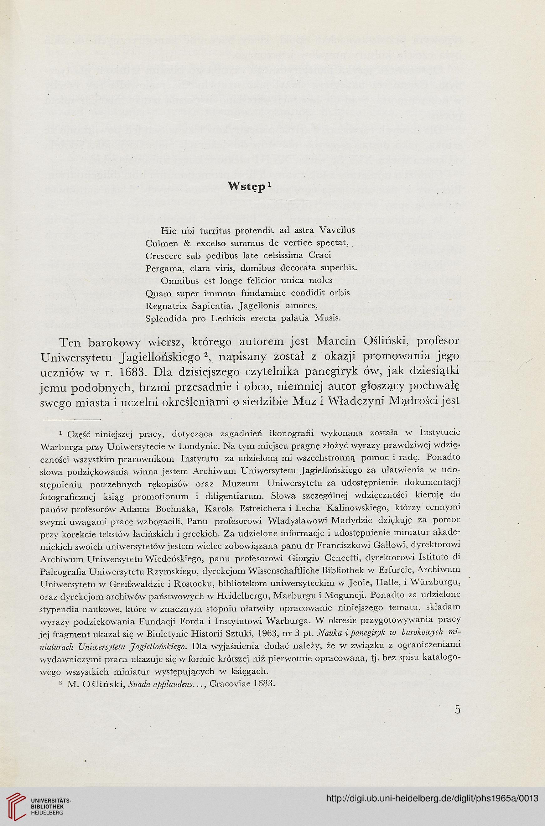 Chojecka Ewa Uniwersytet Jagielloński W Krakowie Hrsg