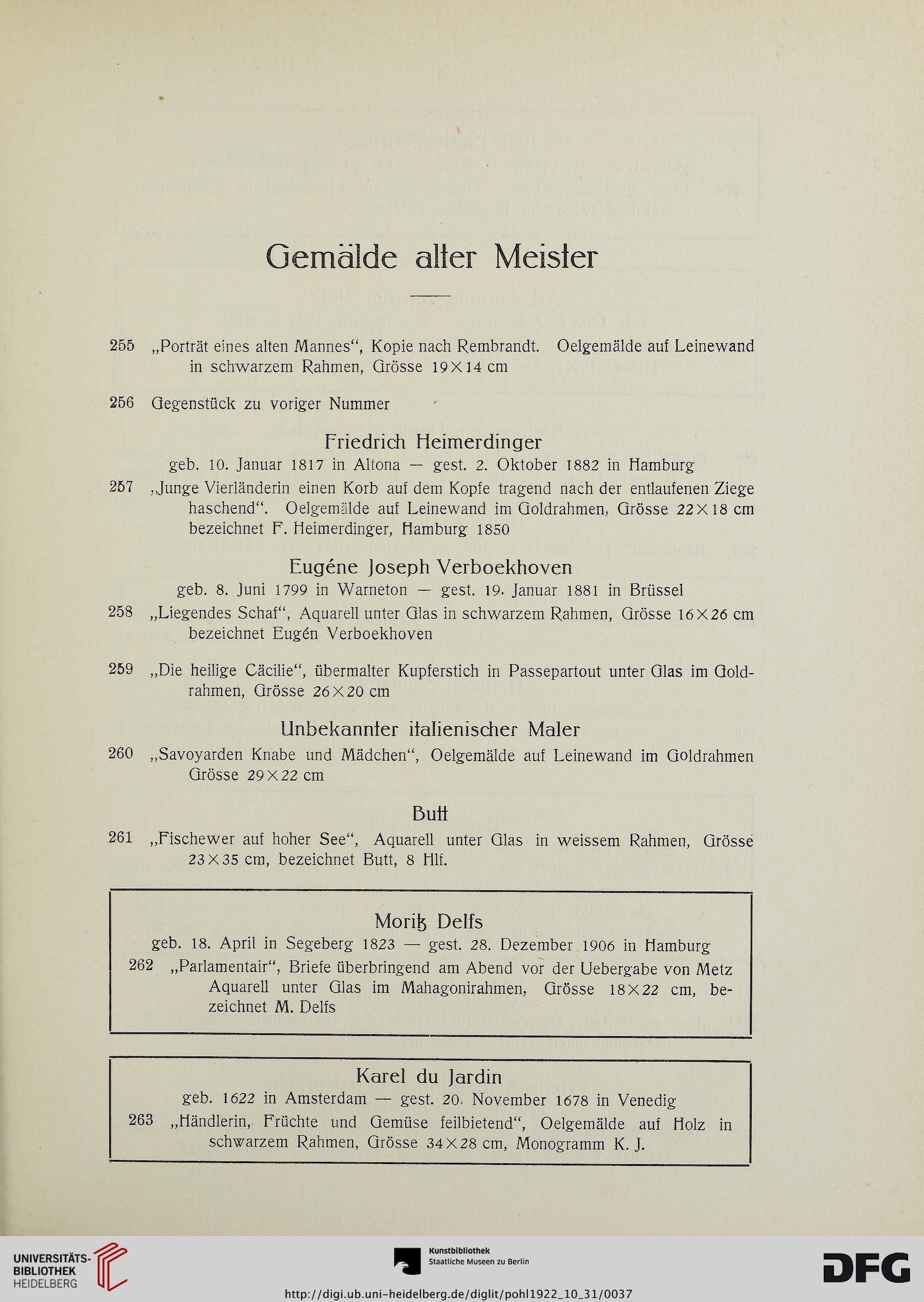Kunst-Auktionshaus G. Adolf Pohl <Hamburg> [Hrsg.]: Künstlerischer ...
