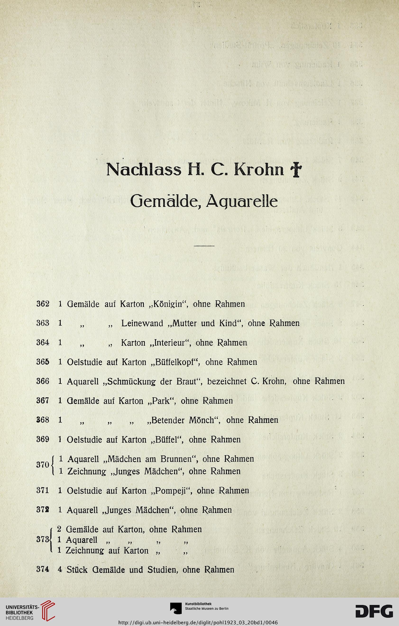 Kunst-Auktionshaus G. Adolf Pohl <Hamburg> [Hrsg.]: Galerie Rave ...