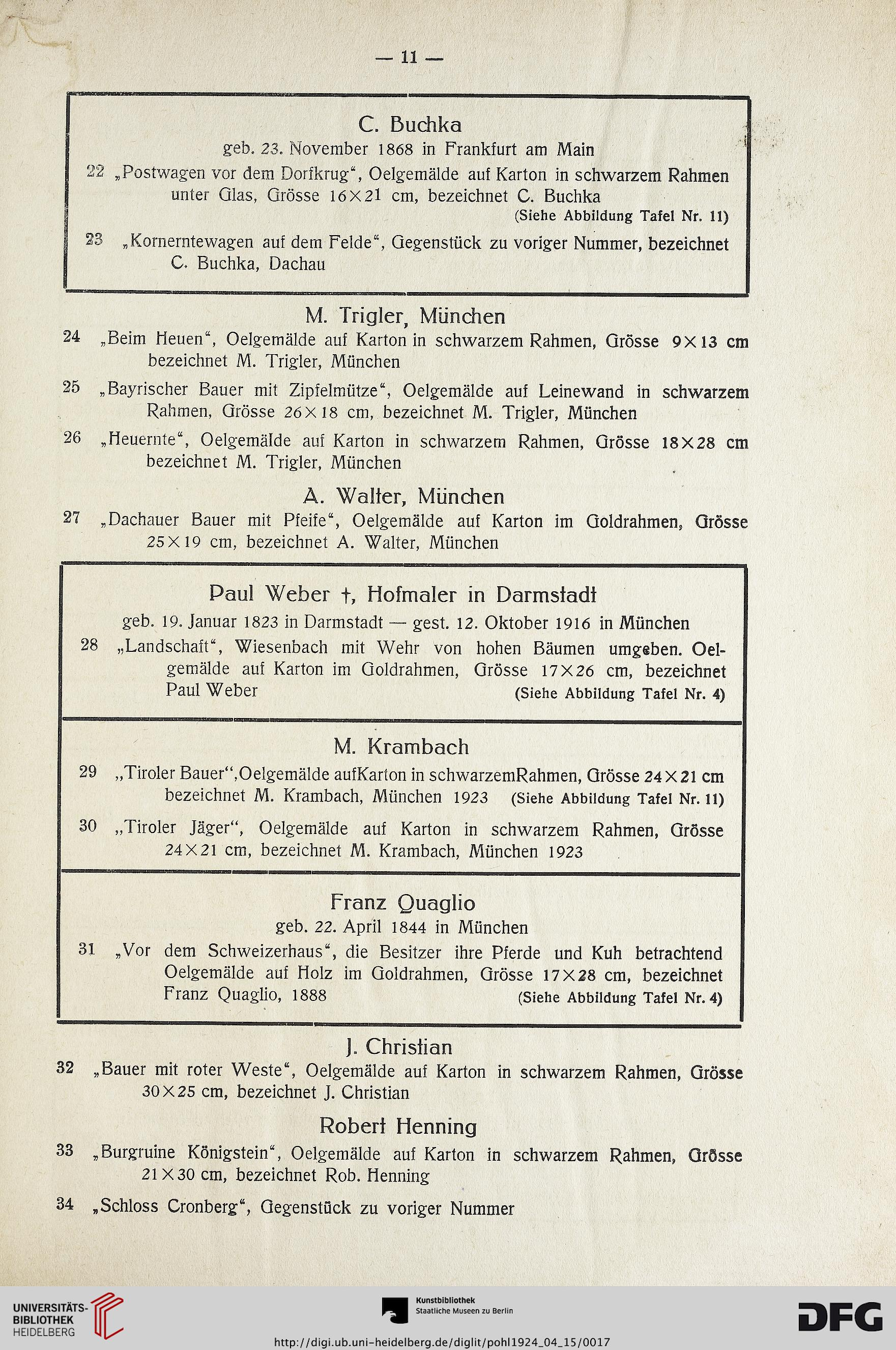 Kunst-Auktionshaus G. Adolf Pohl <Hamburg> [Hrsg.]: Gemälde Sammlung ...