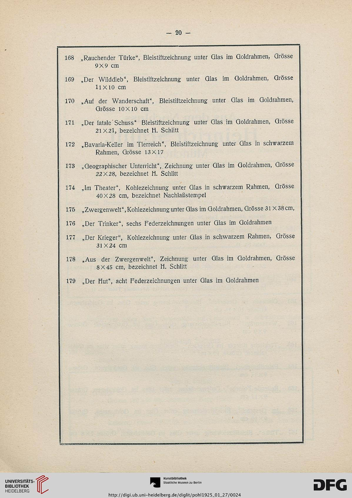 Universitätsbibliothek Heidelberg Deutsche Forschungsgemeinschaft ...