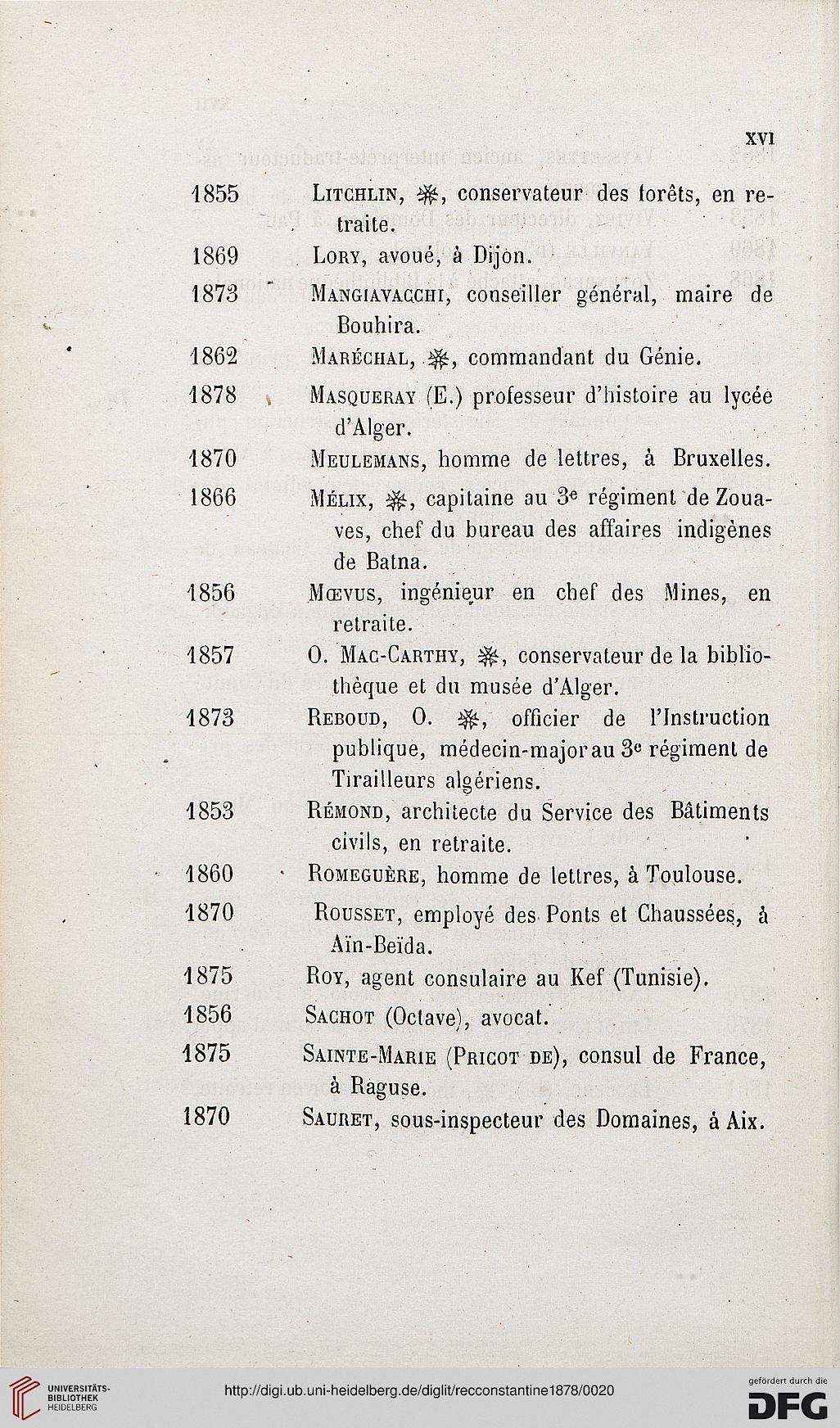 Recueil Des Notices Et Memoires De La Societe Archeologique Du Departement Constantine Ser 28181876 771878