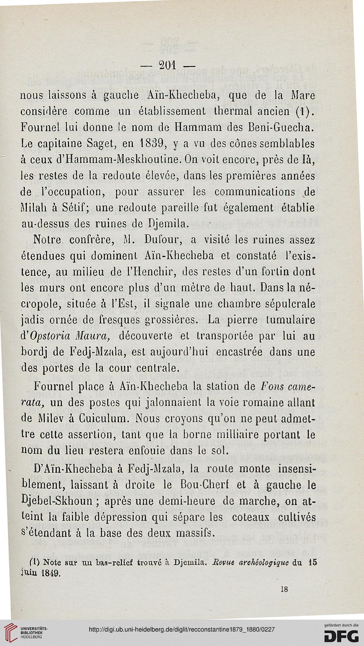 Recueil Des Notices Et Memoires De La Societe Archeologique