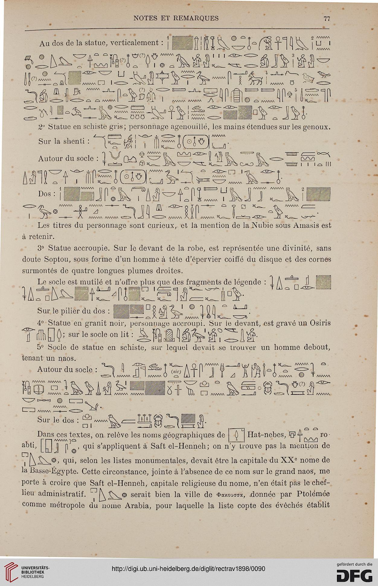 Institut Français d\'Archéologie Orientale <al-Qāhira> [Hrsg ...