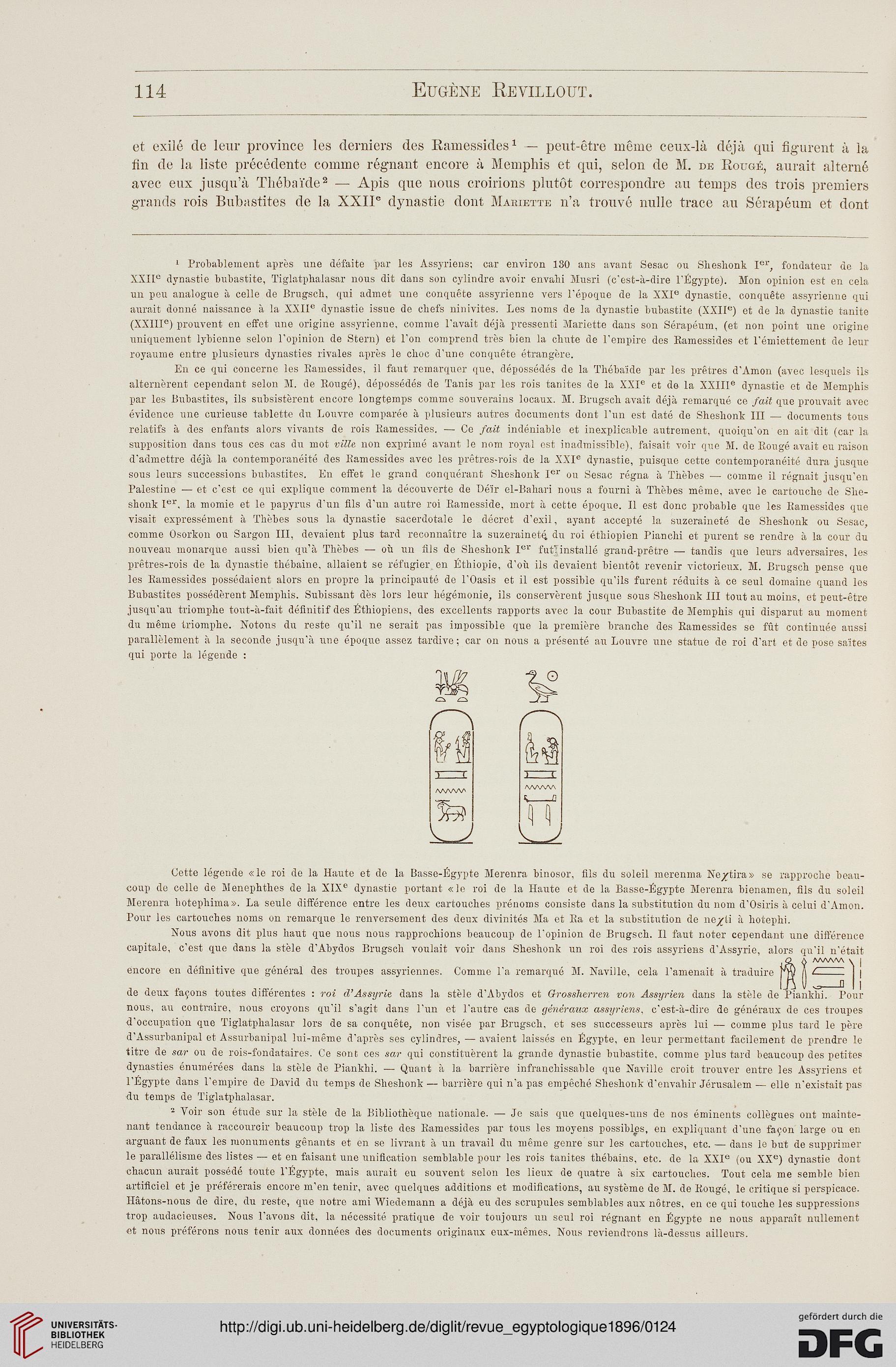 Revue égyptologique 71896