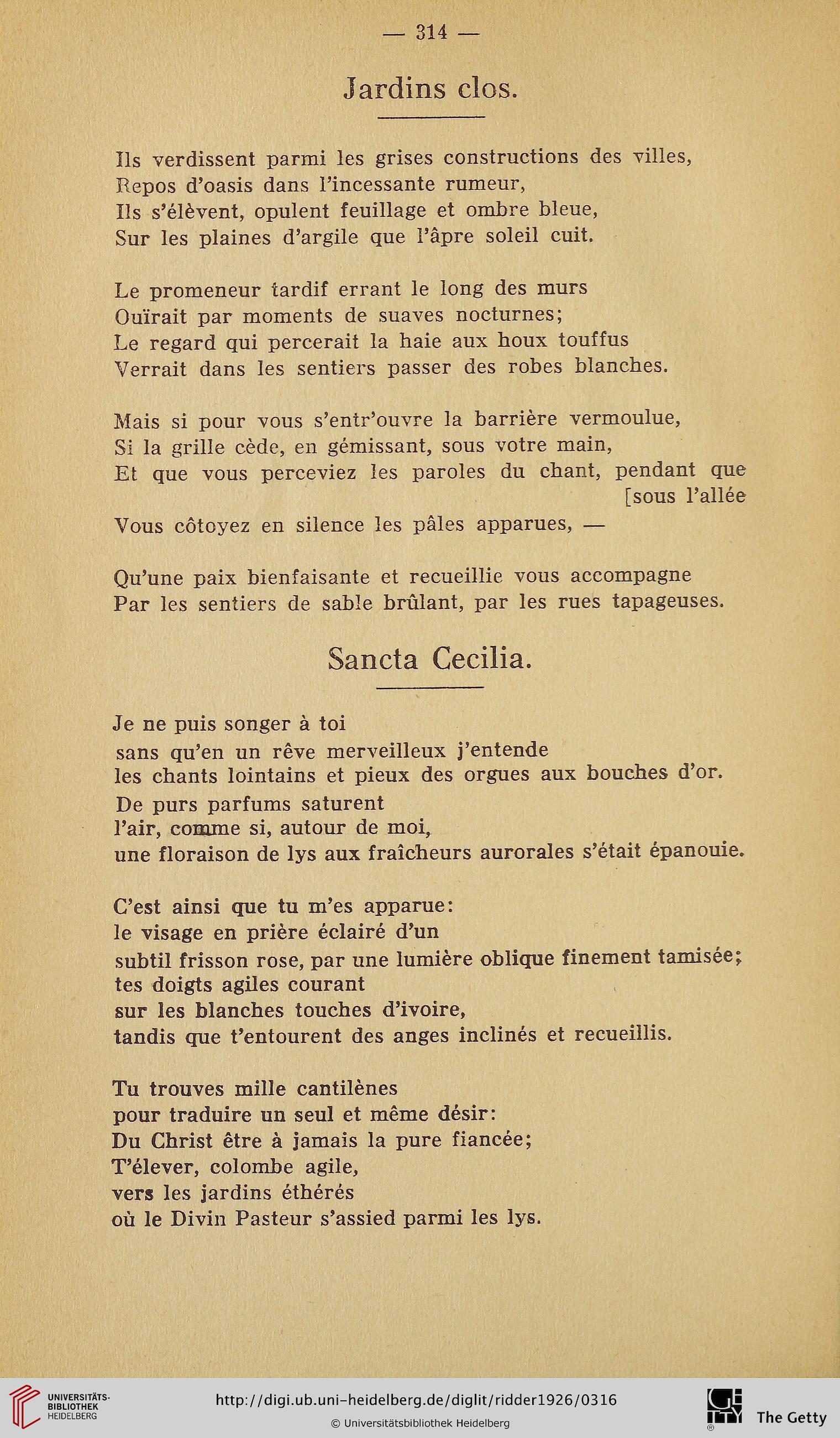 Ridder, André H. [Bearb.]: Anthologie des écrivains flamands ...