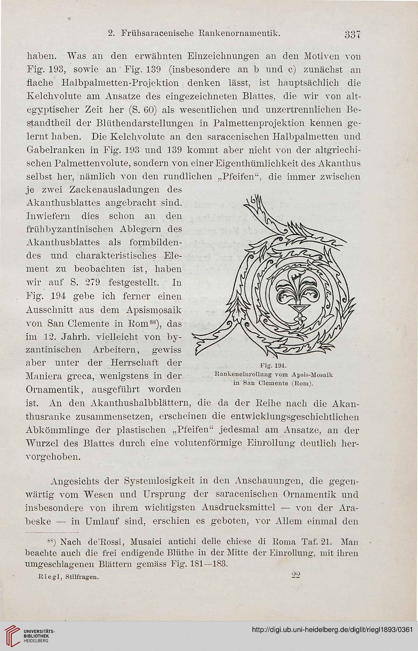 Alois Riegl Stilfragen Pdf