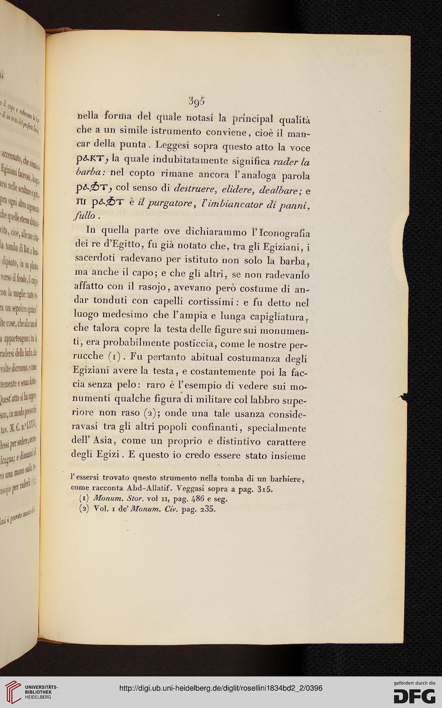 Rosellini Ippolito I Monumenti Dellegitto E Della Nubia Band 22