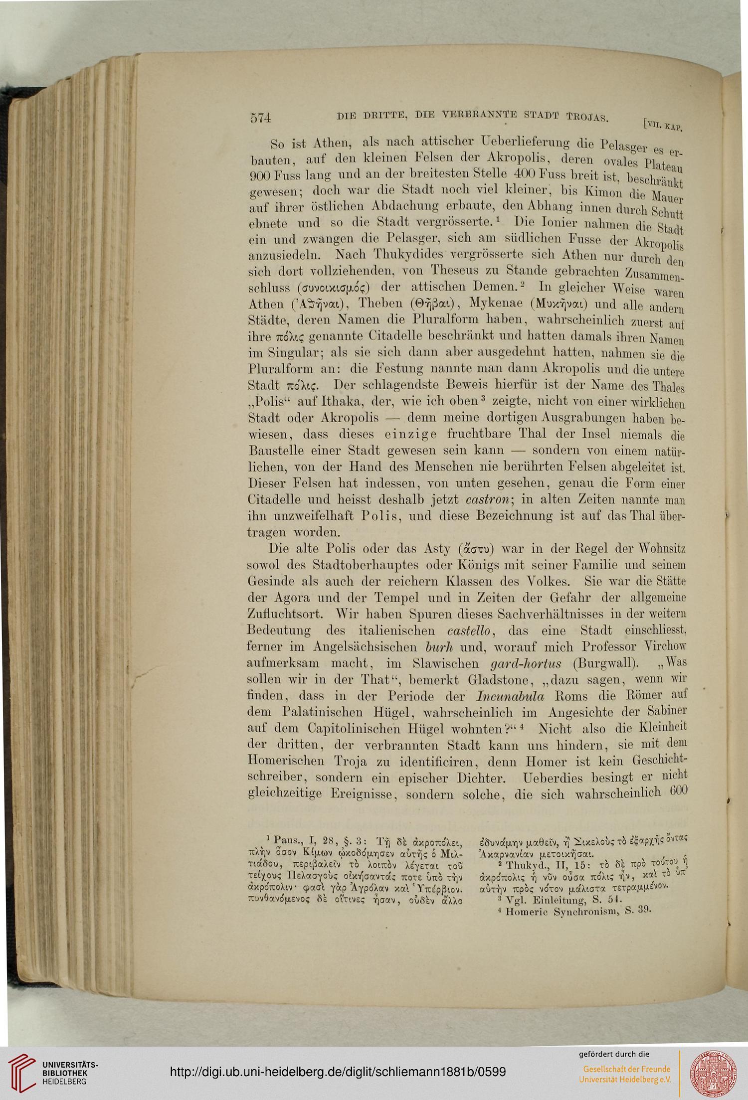 Schliemann, Heinrich: Ilios, Stadt und Land der Trojaner ...