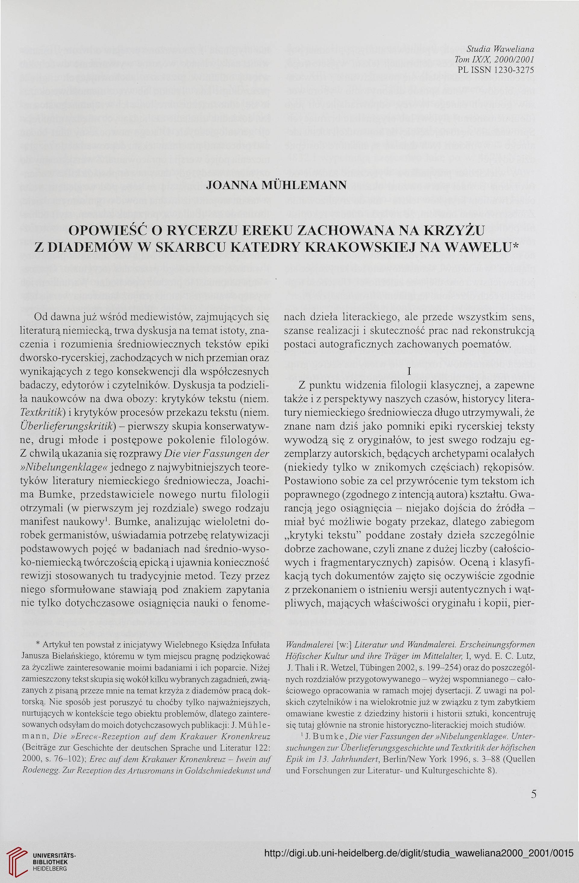 Studia Waweliana 9102000 2001
