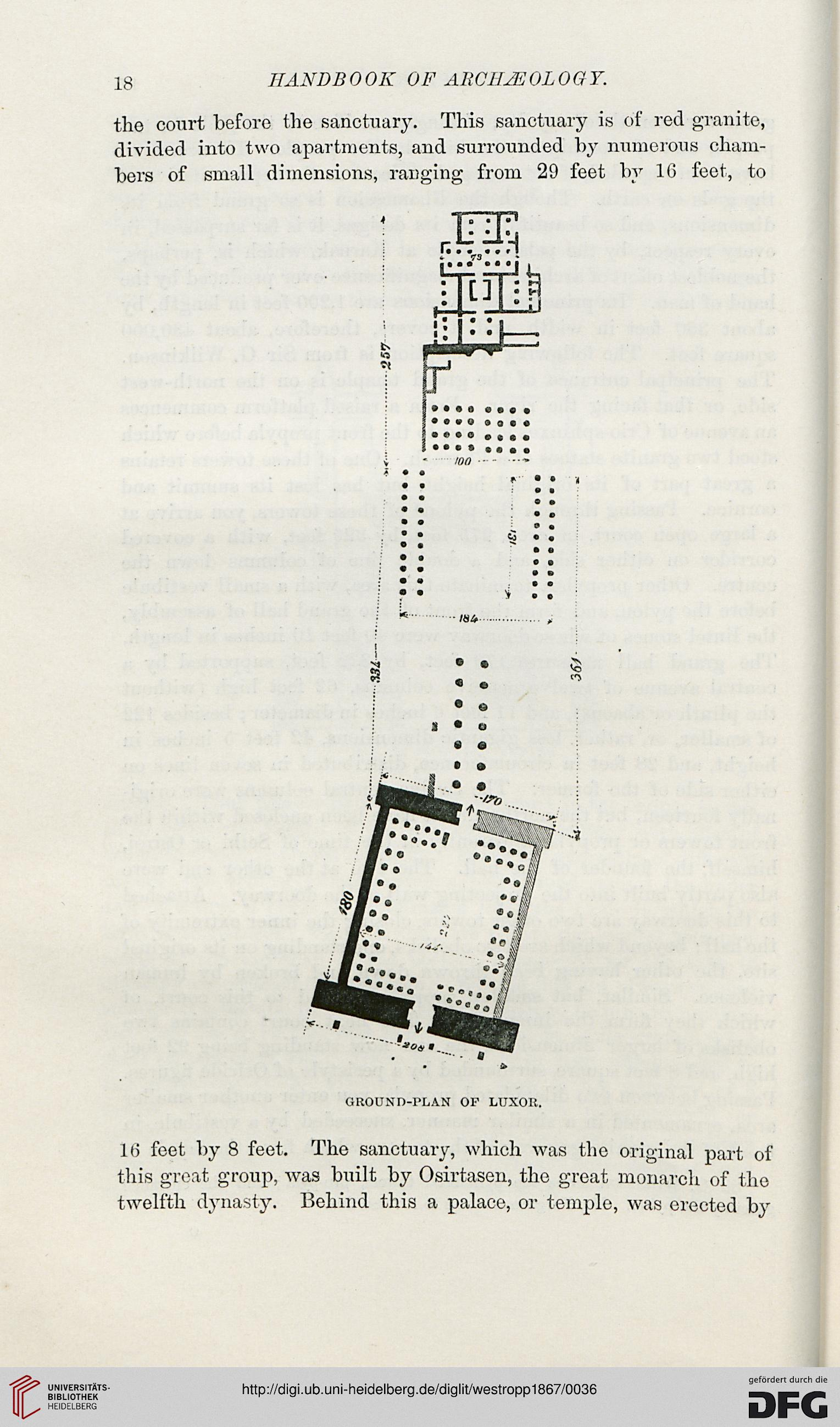 Westropp, Hodder M : Handbook of archaeology: Egyptian, Greek