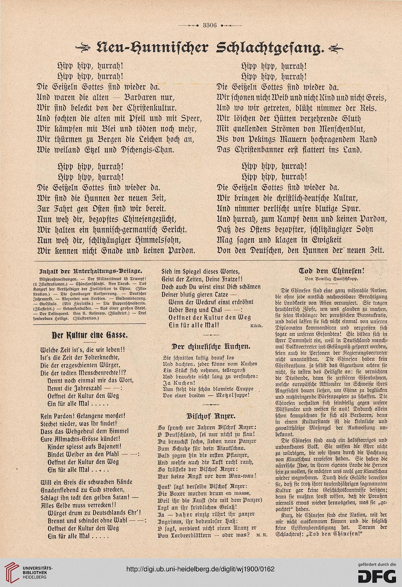 Der Wahre Jakob Nr. 367 (14. August 1900)