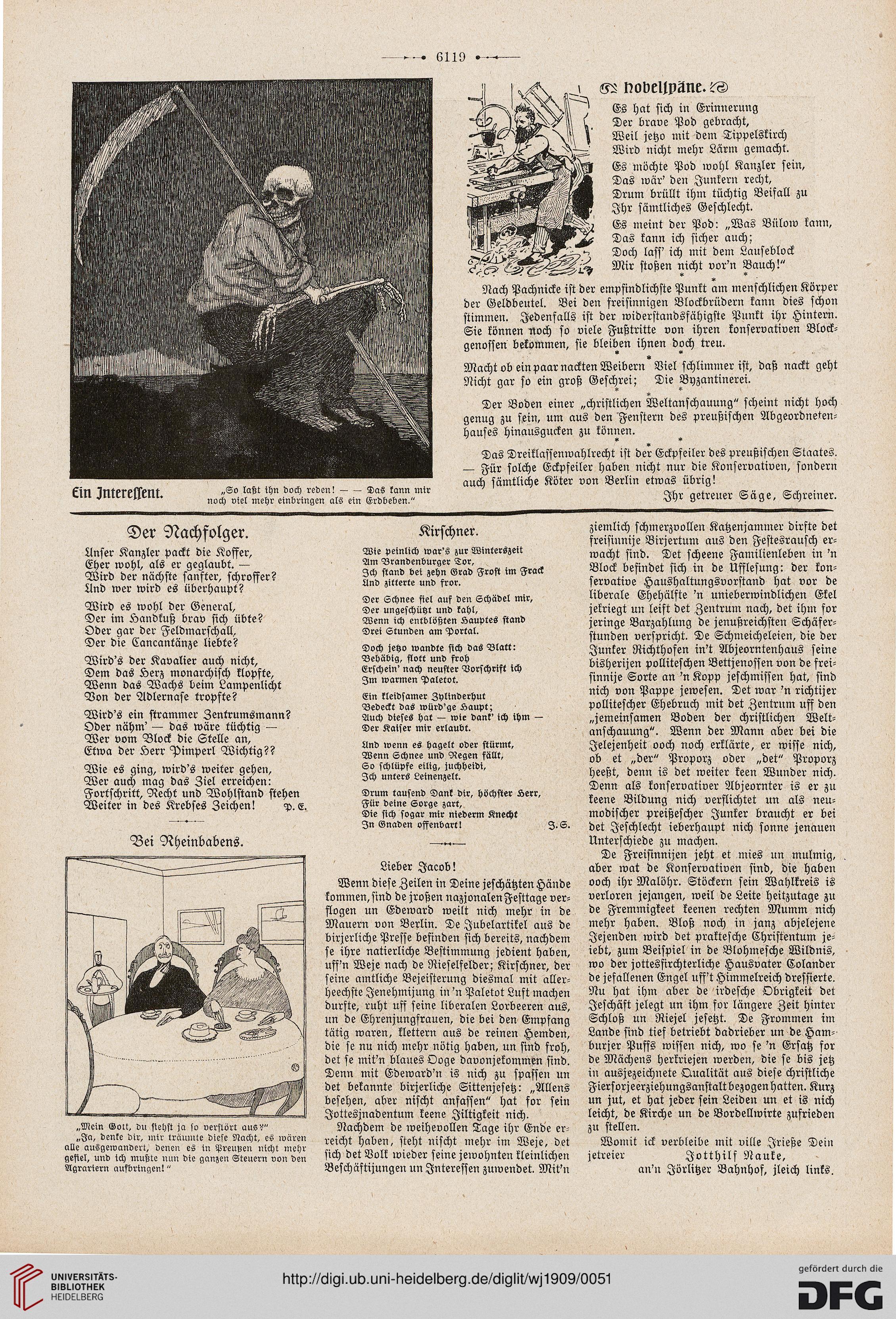 Der wahre Jakob: illustrierte Zeitschrift für Satire, Humor