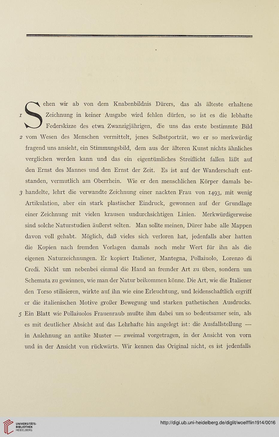 Wölfflin, Heinrich [Hrsg.]; Dürer, Albrecht [Ill.]: Handzeichnungen ...