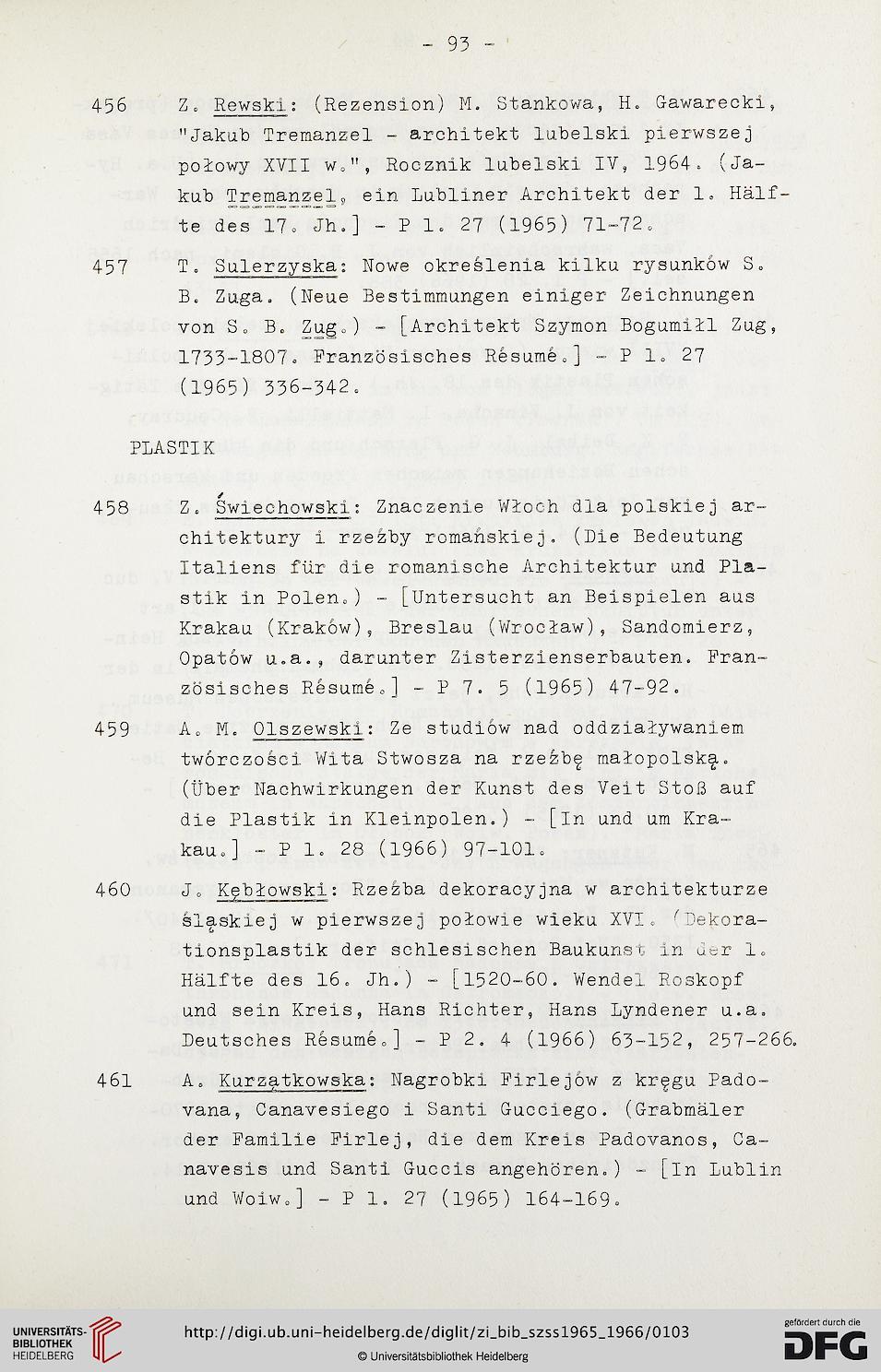 Zentralinstitut Für Kunstgeschichte Hrsg Bibliographie Zur