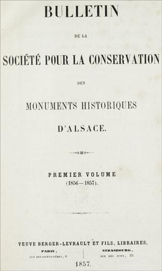 Bulletin De La Société Pour La Conservation Des Monuments