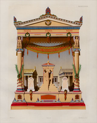 hittorff jacques ignace restitution du temple d emp 233 docle 224 s 233 linonte ou l architecture