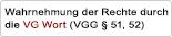 License: Wahrnehmung der Rechte durch die VG WORT (VGG § 51, 52)