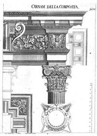 Johann Indau, Wienerisches Architectur-Kunst- und Säulen-Buch (1722), Taf. 12
