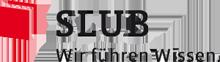 Logo Sächsische Landesbibliothek – Staats- und Universitätsbibliothek Dresden (SLUB)
